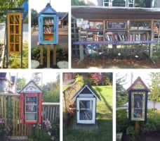Little Free Library -