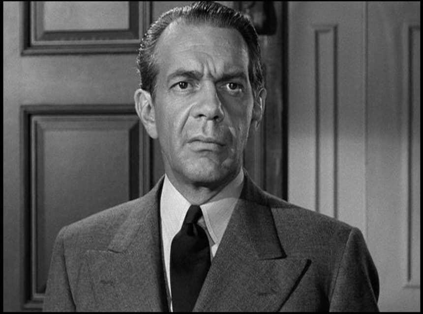 Raymond Massey - American-Canadian actor