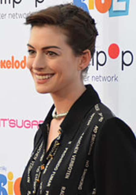 Anne Hathaway - American actress