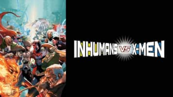 Inhumans vs. X-Men - Comic book series