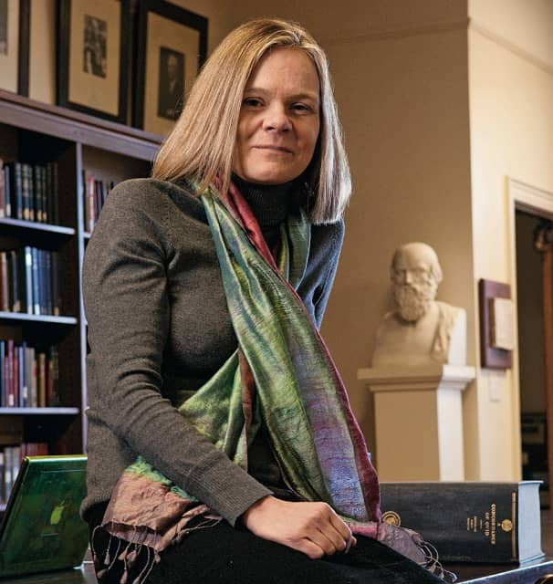 Emma Dench - Dean of the Harvard Graduate School of Arts and Sciences
