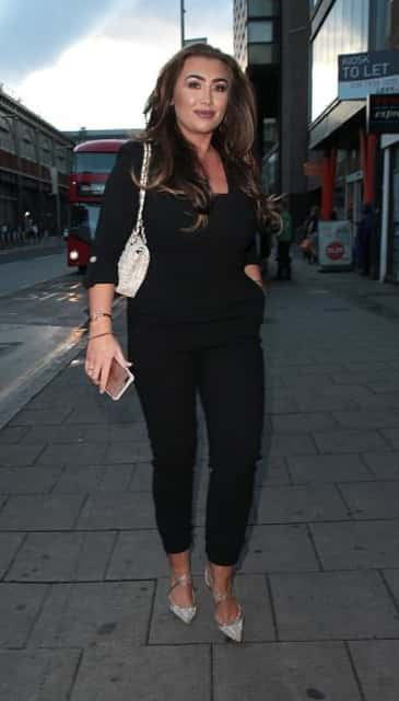 Lauren Goodger - English television personality