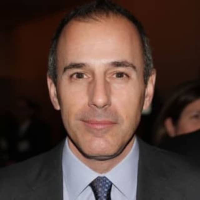 Matt Lauer - American news anchor
