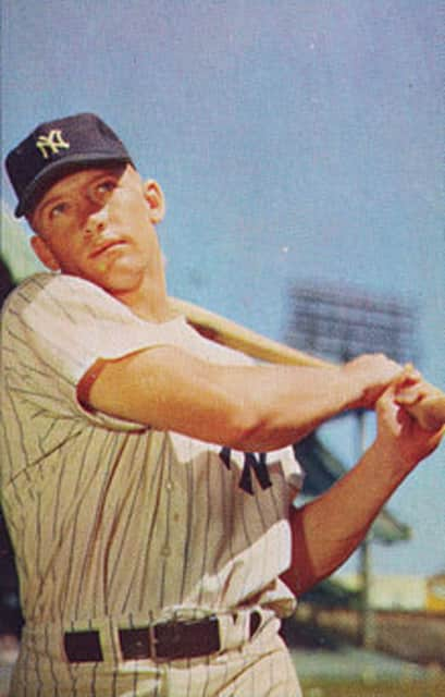 Mickey Mantle - American professional baseball player