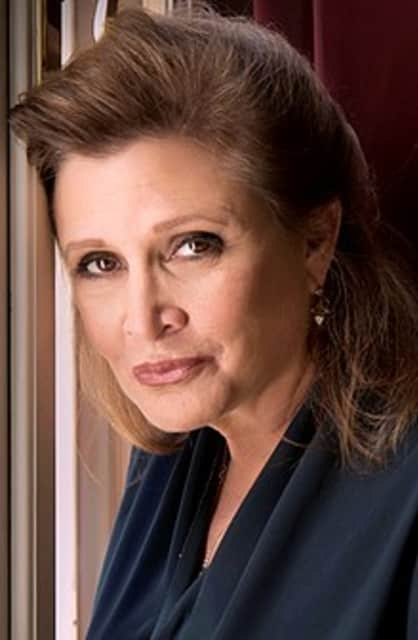 Carrie Fisher - American actress