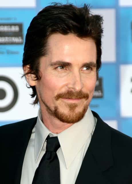 Christian Bale - British actor