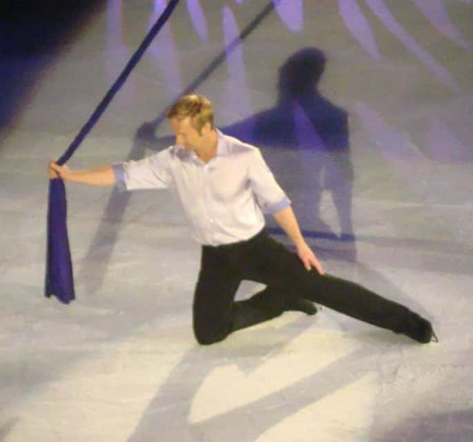Christopher Dean - Ice dancer