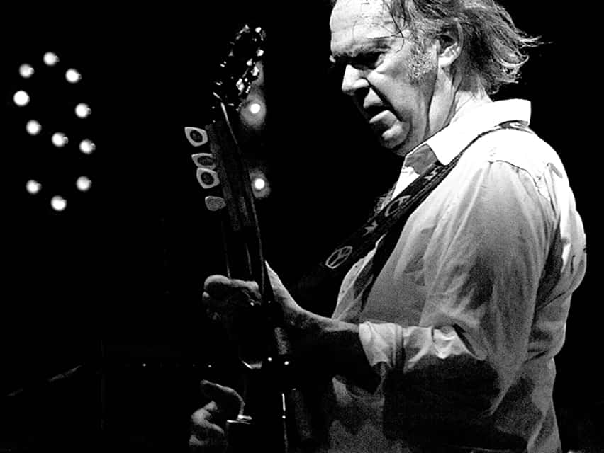 Neil Young - Canadian singer-songwriter