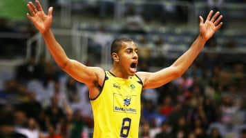 Ricardo Lucarelli Souza - Brazilian volleyball player