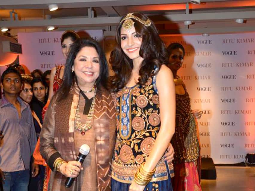 Ritu Kumar - Indian fashion designer