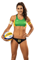 Carolina Solberg Salgado - Brazilian beach volleyball player