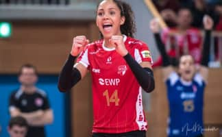 Denise Imoudu - German volleyball player