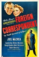 Foreign Correspondent - 1940 ‧ Black and white/Thriller ‧ 2hours