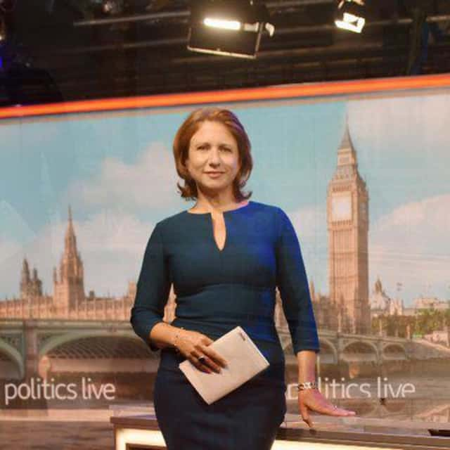 Jo Coburn - British journalist