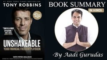 Unshakeable: Your Financial Freedom Playbook - Book by Peter Mallouk and Tony Robbins