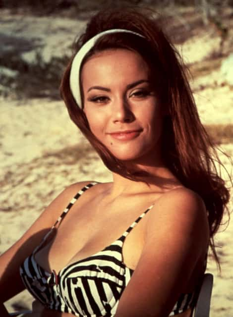 Claudine Auger - French actress