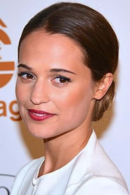 Alicia Vikander - Swedish actress