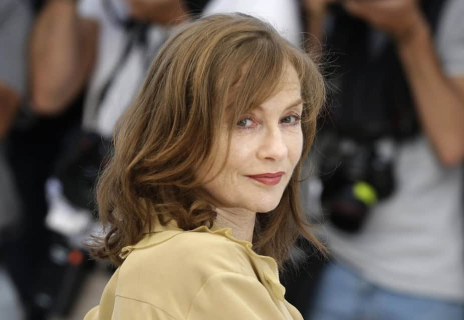 Isabelle Huppert - French actress