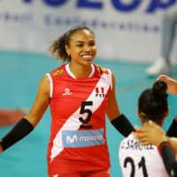 Shiamara Almeida - Peruvian volleyball player