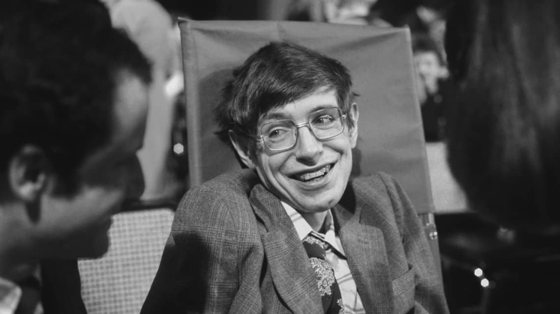 Stephen Hawking - Theoretical physicist