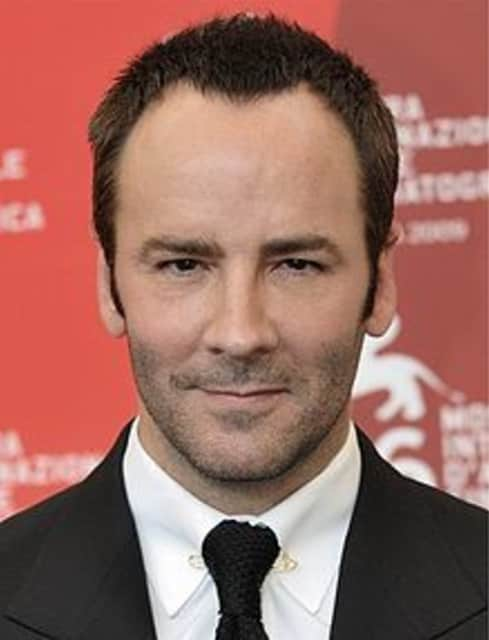Tom Ford - American fashion designer