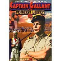 Captain Gallant of the Foreign Legion - American television series
